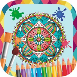 Mandalas to paint - coloring book to draw