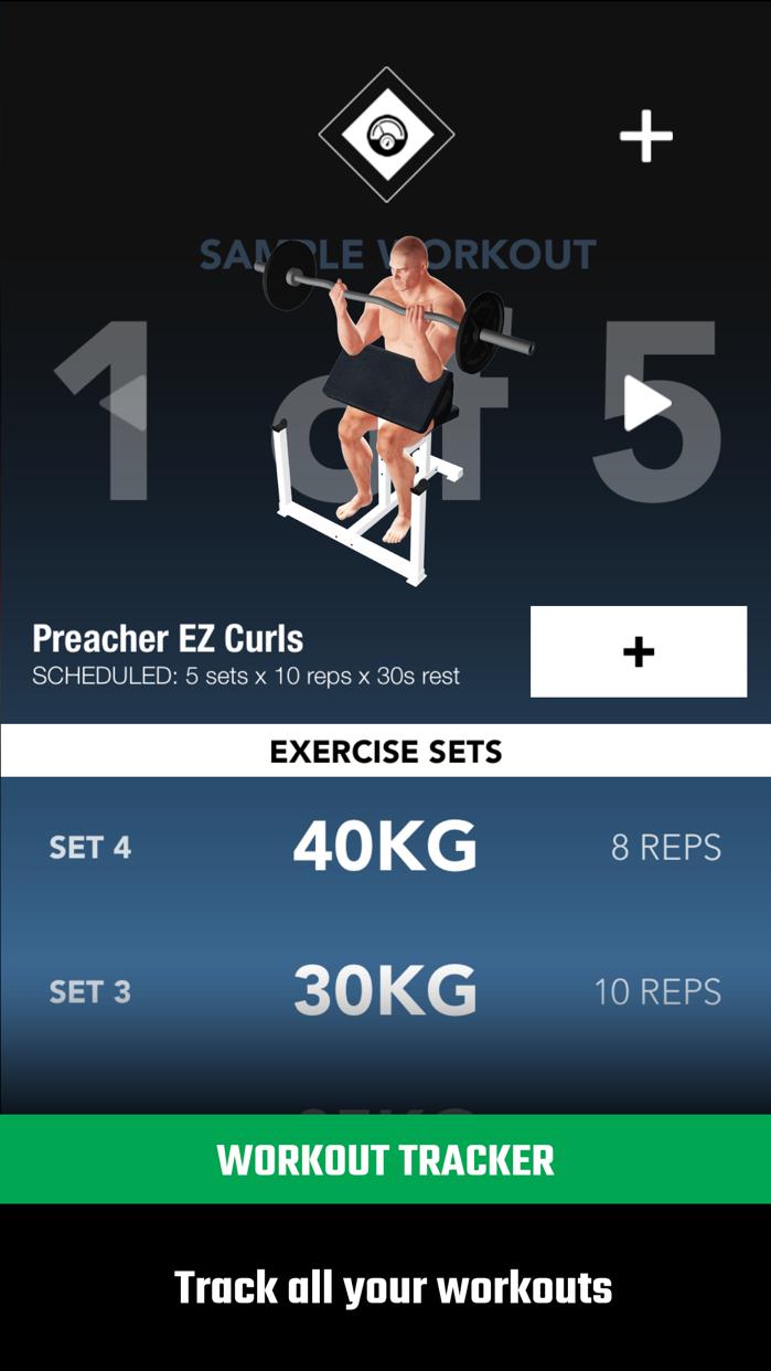 GymStreak Pro - Bodybuilding Tracker Screenshot