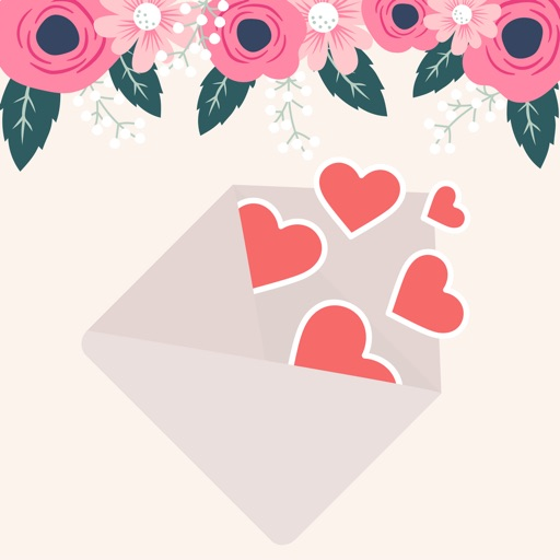 Beautiful LOVE Greeting Cards
