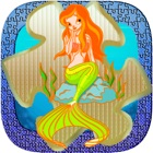 Mermaid collection de puzzle de 4 à 7 ans icon