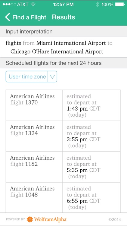 Wolfram Travel Assistant App