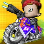 kids bike shooter - 3d crossmotor racen voor kinde
