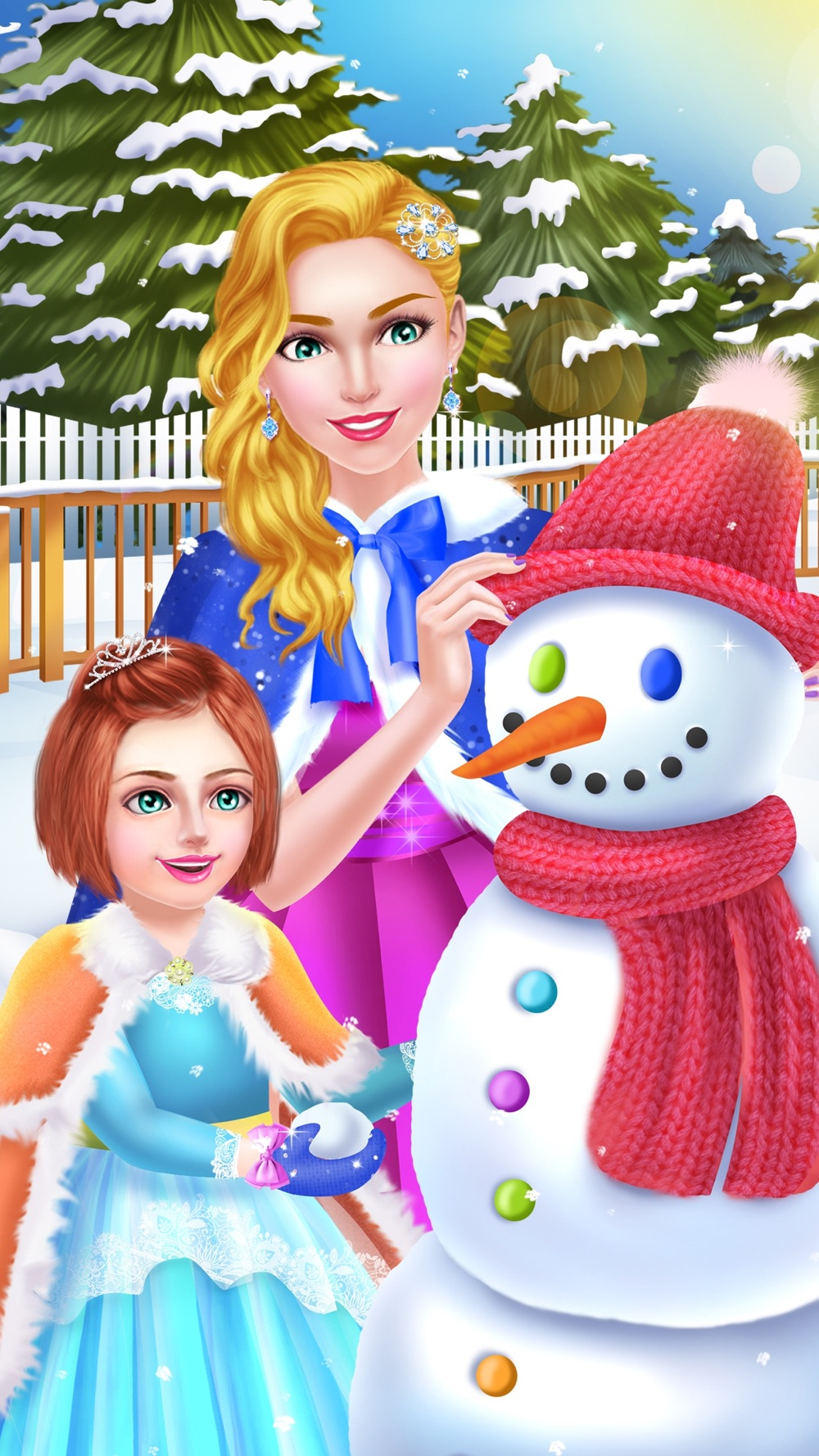 Royal Family Winter Salon - Snow Princess Makeover hack tool