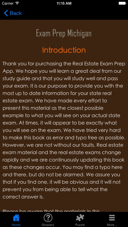 ExamPrepMI Michigan Real Estate Agent Exam Prep.
