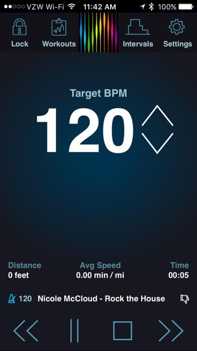 PaceDJ: BPM Running Music Screenshots