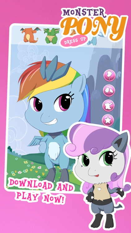 Fun Pony Avatar Dress Up Games for Girls and Teens screenshot-3