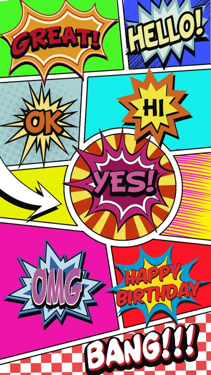 Comics Pop Art Stickers screenshot-2