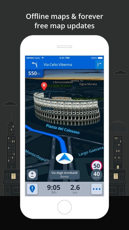 Sygic Western Europe: GPS Navigation, Offline Maps