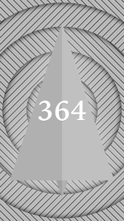 Christmas Day metallic. Beautiful countdown.