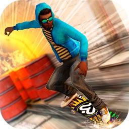 City Skateboard Run