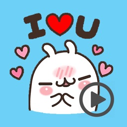 Lovely Rabbit Love Animated