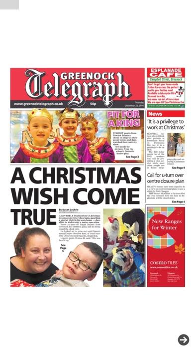 Greenock Telegraph screenshot two