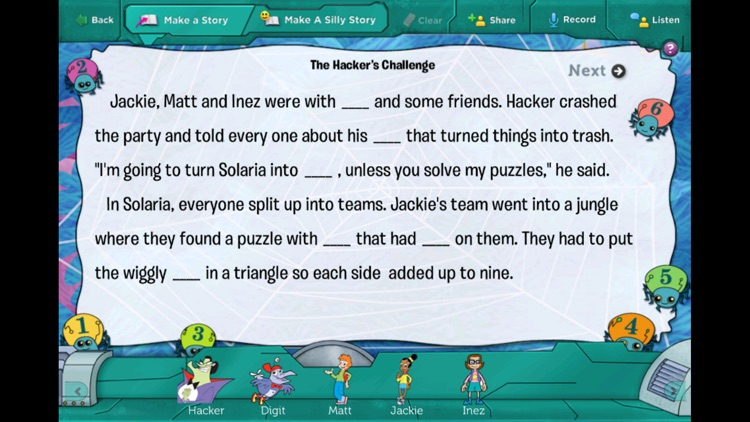 Cyberchase: The Hacker's Challenge screenshot-4