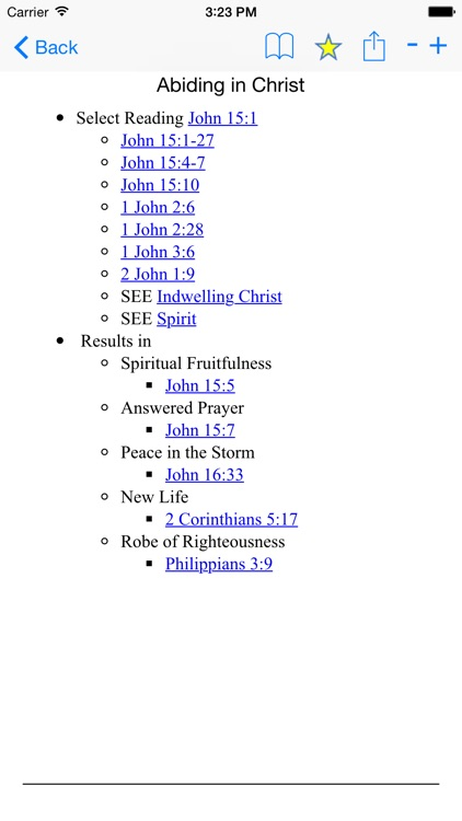 Thompson's Study Bible with KJV Reference Verses screenshot-1