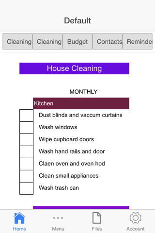 Monthly House Cleaning - náhled