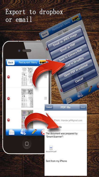 MyScan: capture and share PDF screenshot-4