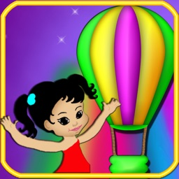 Collect Balloons Ride - Learn Colors
