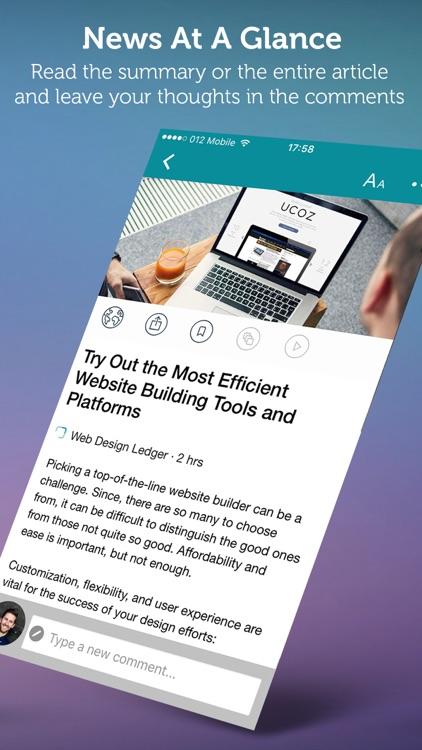 Design News - Web, Mobile, Print and More screenshot-3