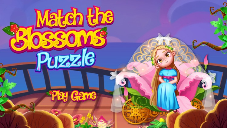 Match the Blossoms Puzzle 2017