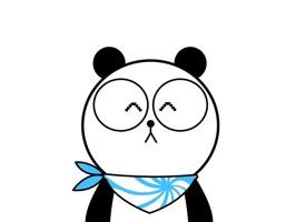 机器熊猫结合了熊猫的萌与机械的酷。