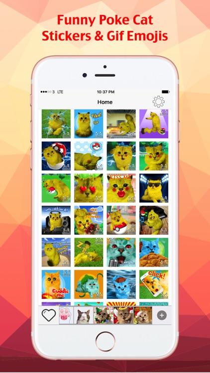Cat Keyemoji Free-Kitty Sticker Gif Video Emoji