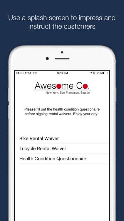 WaiverForever - The leading electronic waiver app screenshot-3
