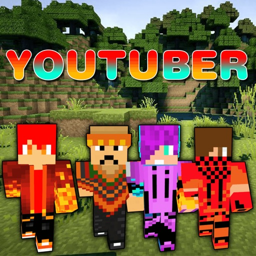 Youtuber Skins Best Skins For Minecraft PE By Nidhi Mistri - Skins para minecraft pe youtubers