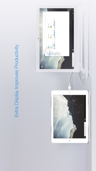 Splashtop Wired XDisplay – Extend & Mirrorのスクリーンショット