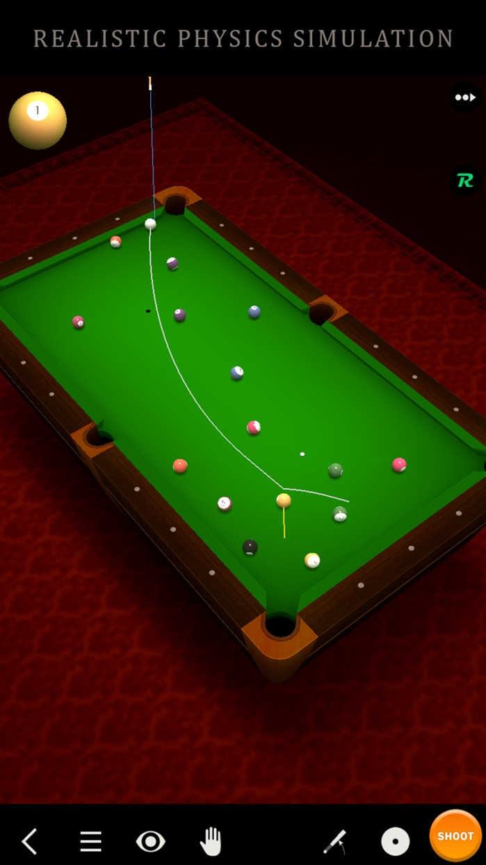 Pool Break Lite 3D Billiards 8 Ball Snooker Carrom Screenshot