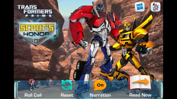 Transformers Prime: Scout's Honor
