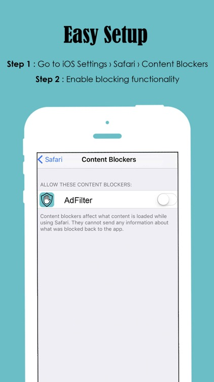 Ad Filter - Block and Filter all Ads away! screenshot-3