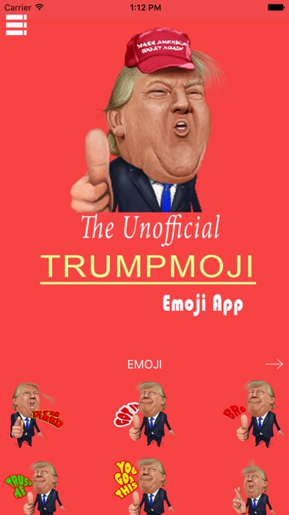 Trump Emoji screenshot-1