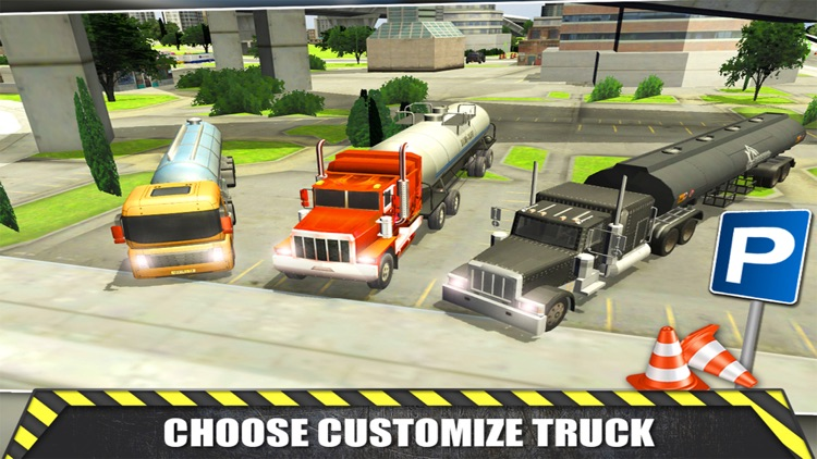 Trucker - Driving & Parking Simulator 3D screenshot-3