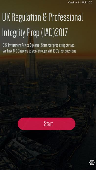 UK Regulation & Professional screenshot one