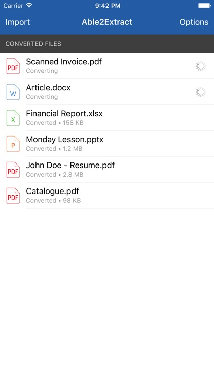 Able2Extract - PDF Converter with OCR