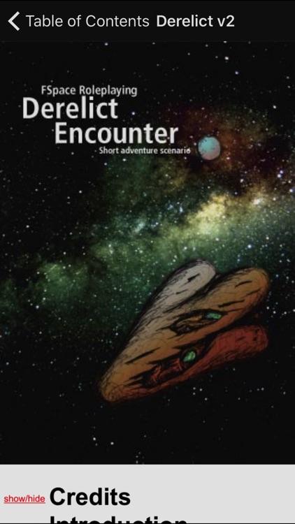 Derelict Encounter