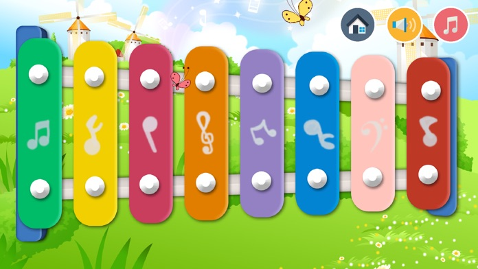 Baby Xylophone - Cute Music Game For Kids! Screenshot