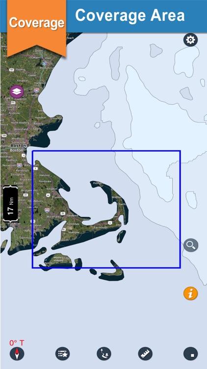 Cape Cod Bay Fishing Charts