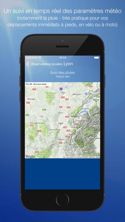 Météo Lyon screenshot-3