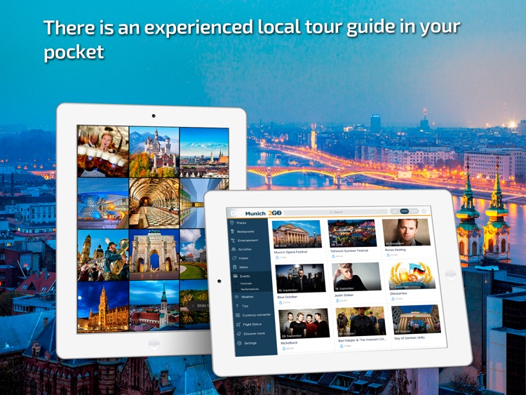Munich Travel Guide & offline city map