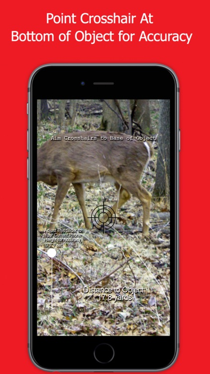 Whitetail Deer Hunting Range Finder for Hunting