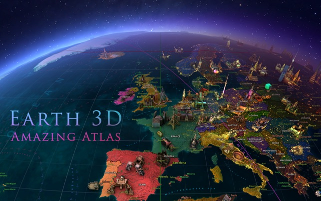 Earth 3D - Amazing Atlas Screenshot