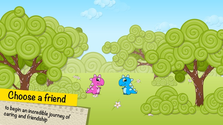 Virtual pet Dino and his farm