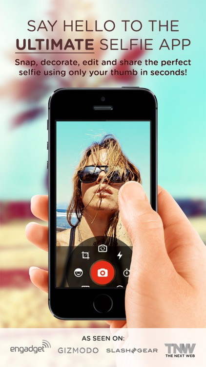 Selfie Cam App: Take PERFECT selfies every time!