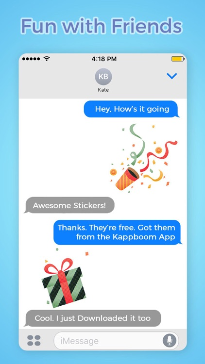 Happy Birthday Stickers by Kappboom