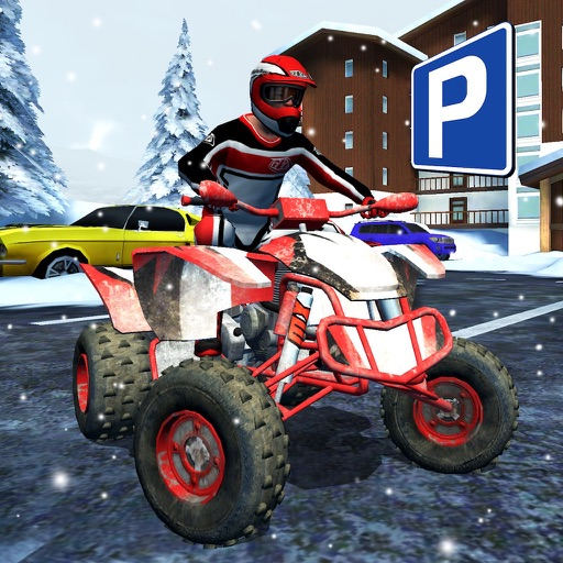 ATV Quad Bike Snow Parking Simulator 2017