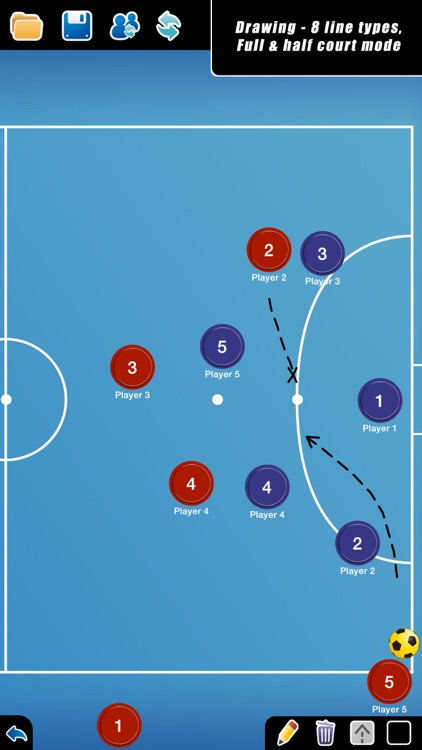 Coach Tactic Board: Futsal++