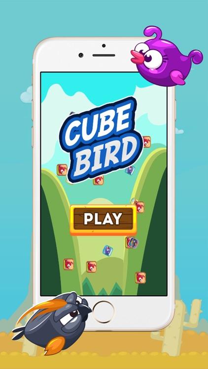 Cube Bird Match 3 Game