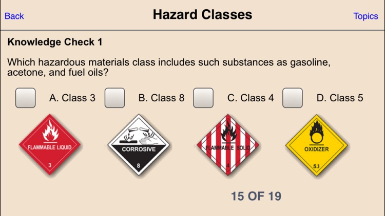 Hazmat Training General Awareness/Familiarization