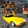 Classic Car Robot Transformation – Metal Battle